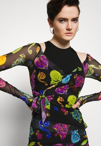 Versace Jeans Couture - Shift dress - multi colour - 3