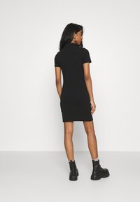 ONLY - ONLEMMA DRESS - Žerzejové šaty - black - 2