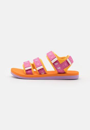 ABAY - Walking sandals - orange