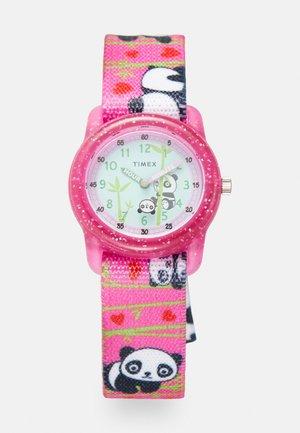 KIDS ANALOG STRAP WATCH UNISEX - Hodinky - pink