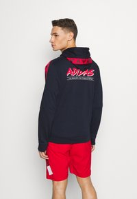 adidas Performance - Zip-up hoodie - legend ink/scarlet - 2