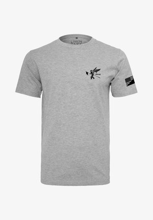 LINKIN PARK FLAG TEE - T-shirt med print - light grey
