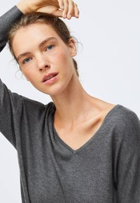 OYSHO - Jumper dress - dark grey - 3