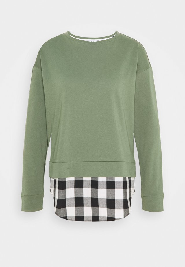 MIX - Sweatshirt - light khaki