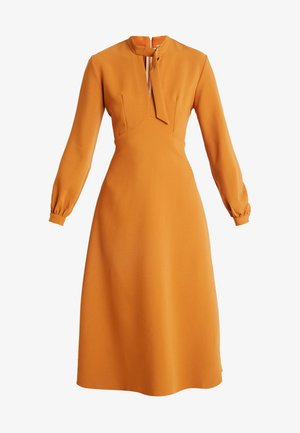CLOSET D-RING COLLAR A-LINE DRESS - Vestito elegante - mustard