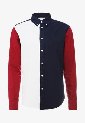 TOMLIN COLORBLOCK - Skjorte - red/white/blue