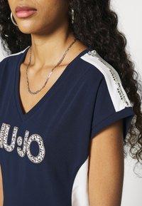 Liu Jo Jeans - ABITO - Sukienka z dżerseju - blu navy - 5
