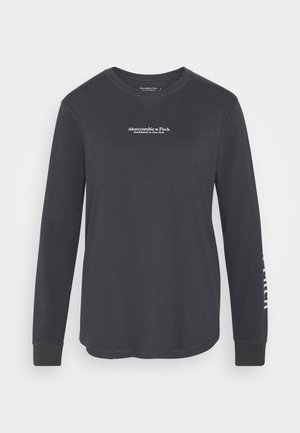 LOGO LONG SLEEVE - Topper langermet - dark grey