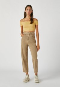 PULL&BEAR - Top - light yellow - 1