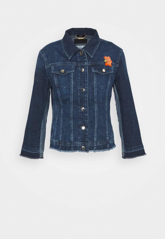 Džínová bunda - vintage indigo