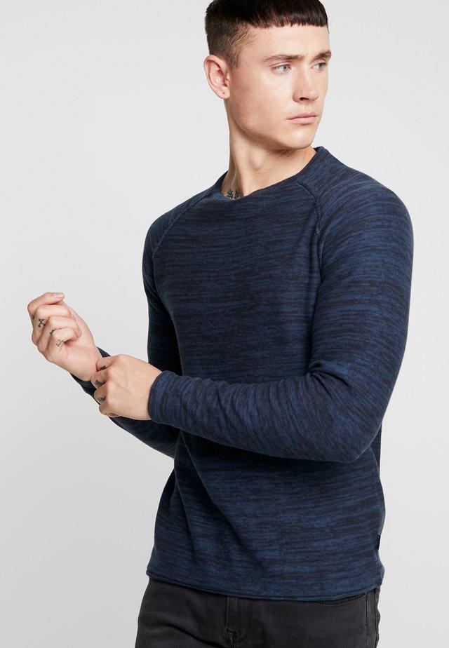 Strikkegenser - dark navy blue