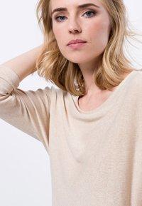 zero - Long sleeved top - cream melange - 3