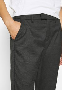 Q/S designed by - Trousers - dark grey - 3