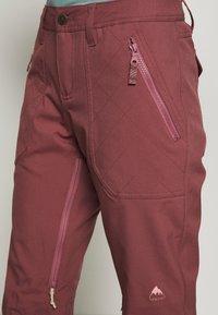 Burton - VIDA ROSE BROWN - Snow pants - rose brown - 6