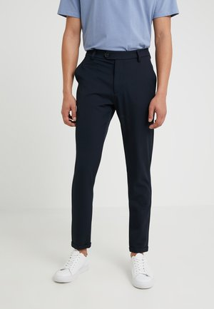 COMO LIGHT SUIT PANTS - Pantaloni eleganti - navy