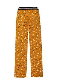 WE Fashion - WE FASHION MÄDCHENHOSE MIT LEOPARDENMUSTER - Pantalon classique - yellow - 1