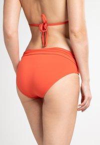MICHAEL Michael Kors - ICONIC SOLIDS BIKINI BOTTOM - Braguita de bikini - orange - 2