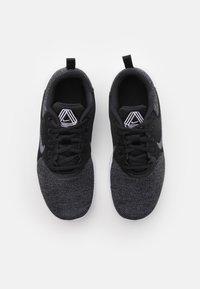 Nike Performance - FLEX EXPERIENCE - Chaussures de running neutres - black/white/dark smoke grey/iron grey - 3
