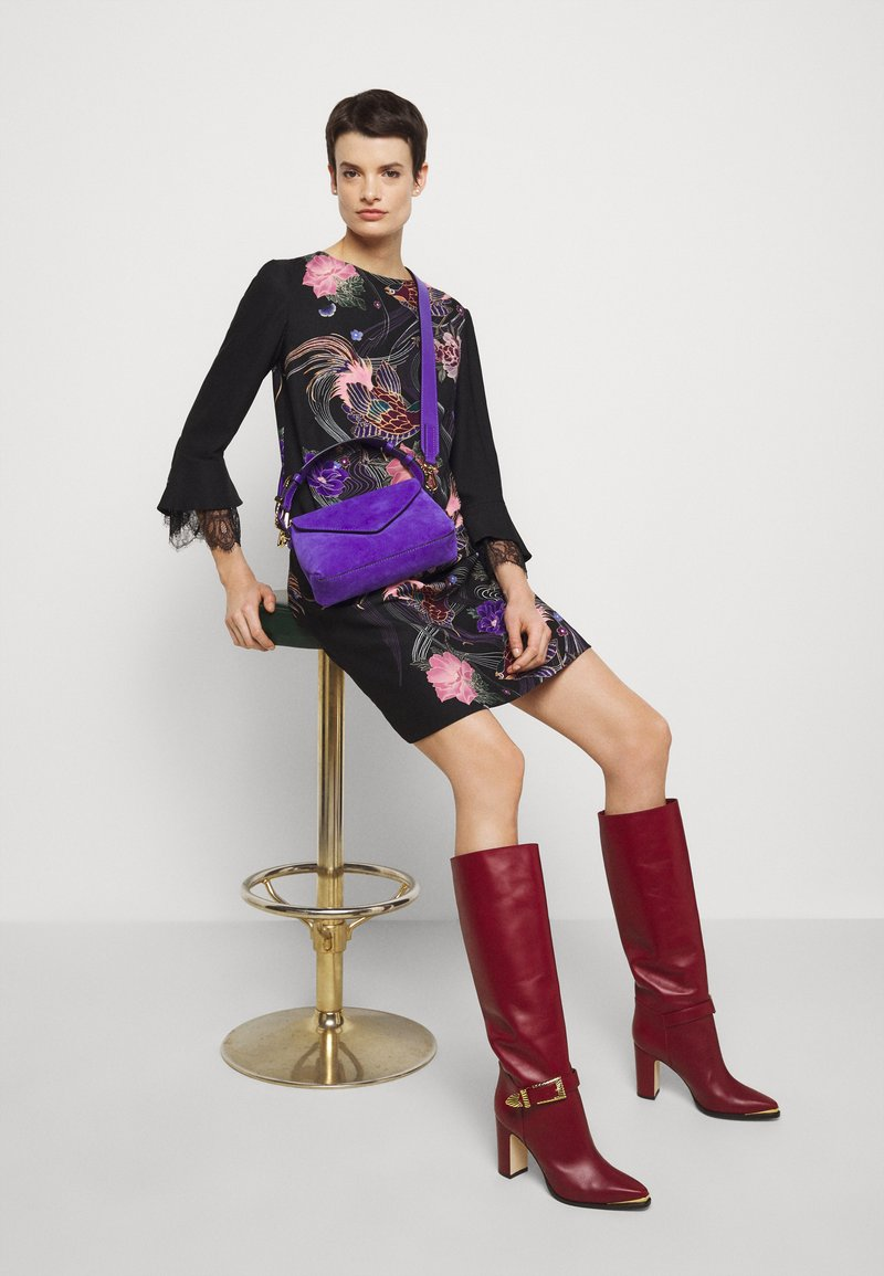 Alberta Ferretti - SHOULDER BAG FLAP - Handbag - blue