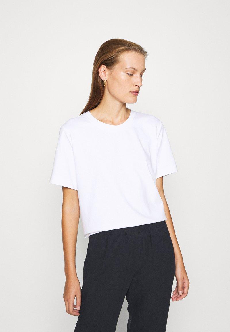 ARKET - Camiseta básica - white light