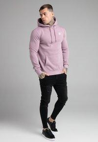 SIKSILK - BASIC OVERHEAD HOODIE UNISEX - Sweatshirt - purple - 1