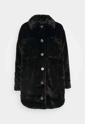 VMDONNASHIRT JACKET - Winter coat - black