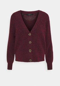 Selected Femme - SLFSIF CARDIGAN - Cardigan - winetasting - 0