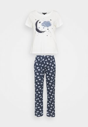 FOLDED SET - Pyjama set - navy