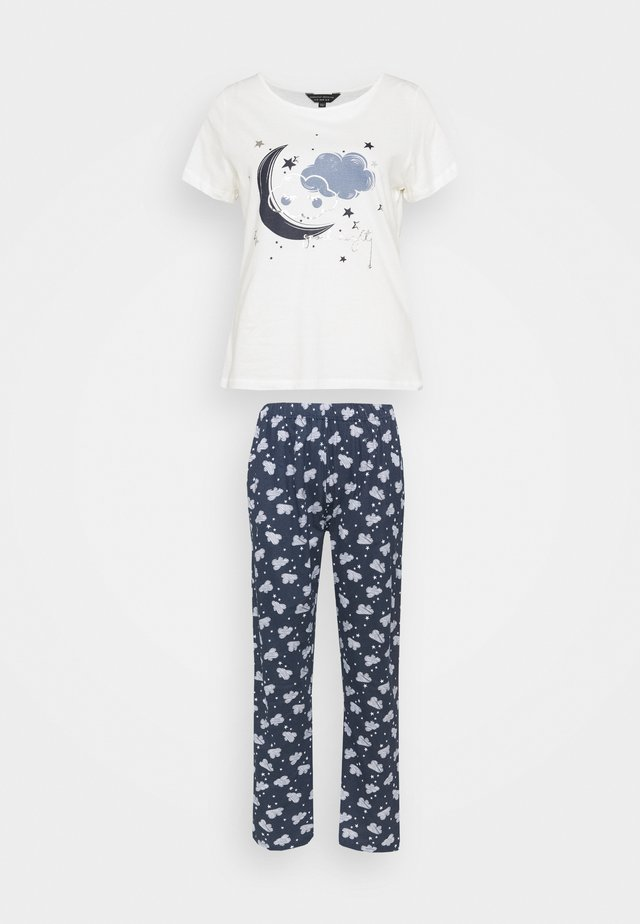 FOLDED SET - Pyjama - navy
