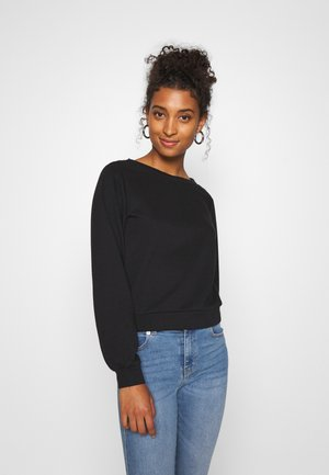 ONLMILA NECK MIX  - Sweatshirt - black