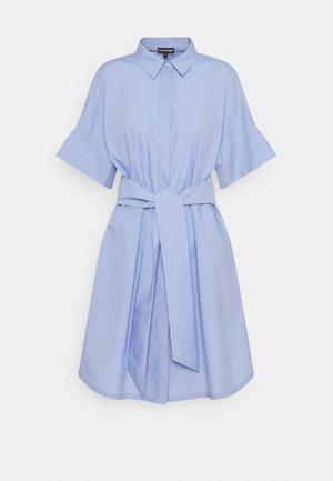 Košilové šaty - lilla macarons