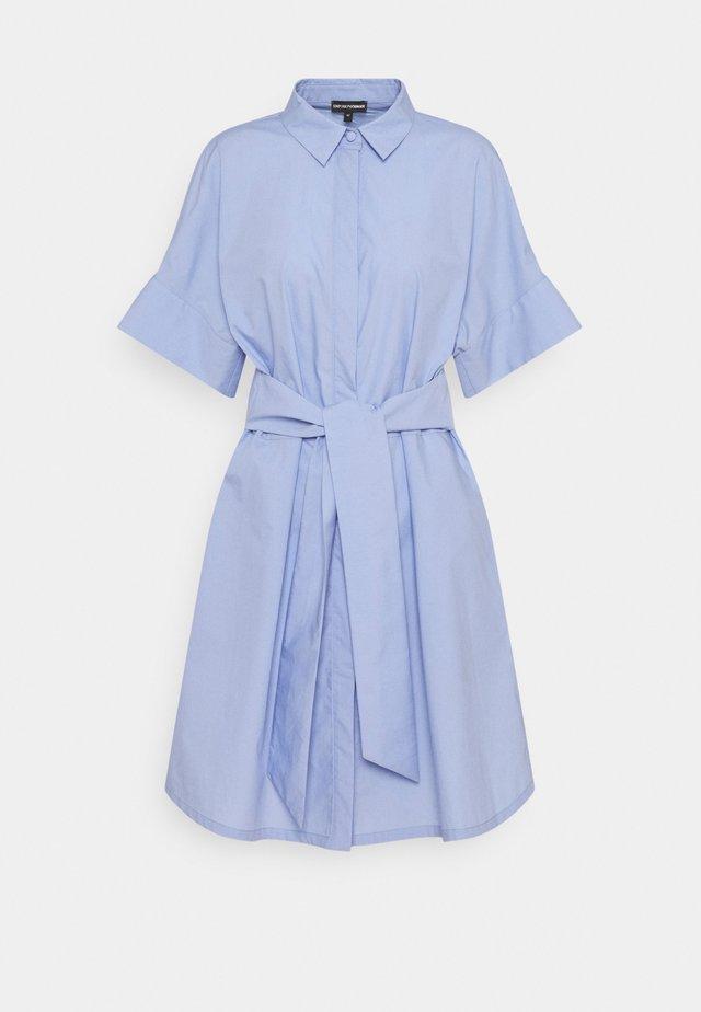 Sukienka koszulowa - lilla macarons