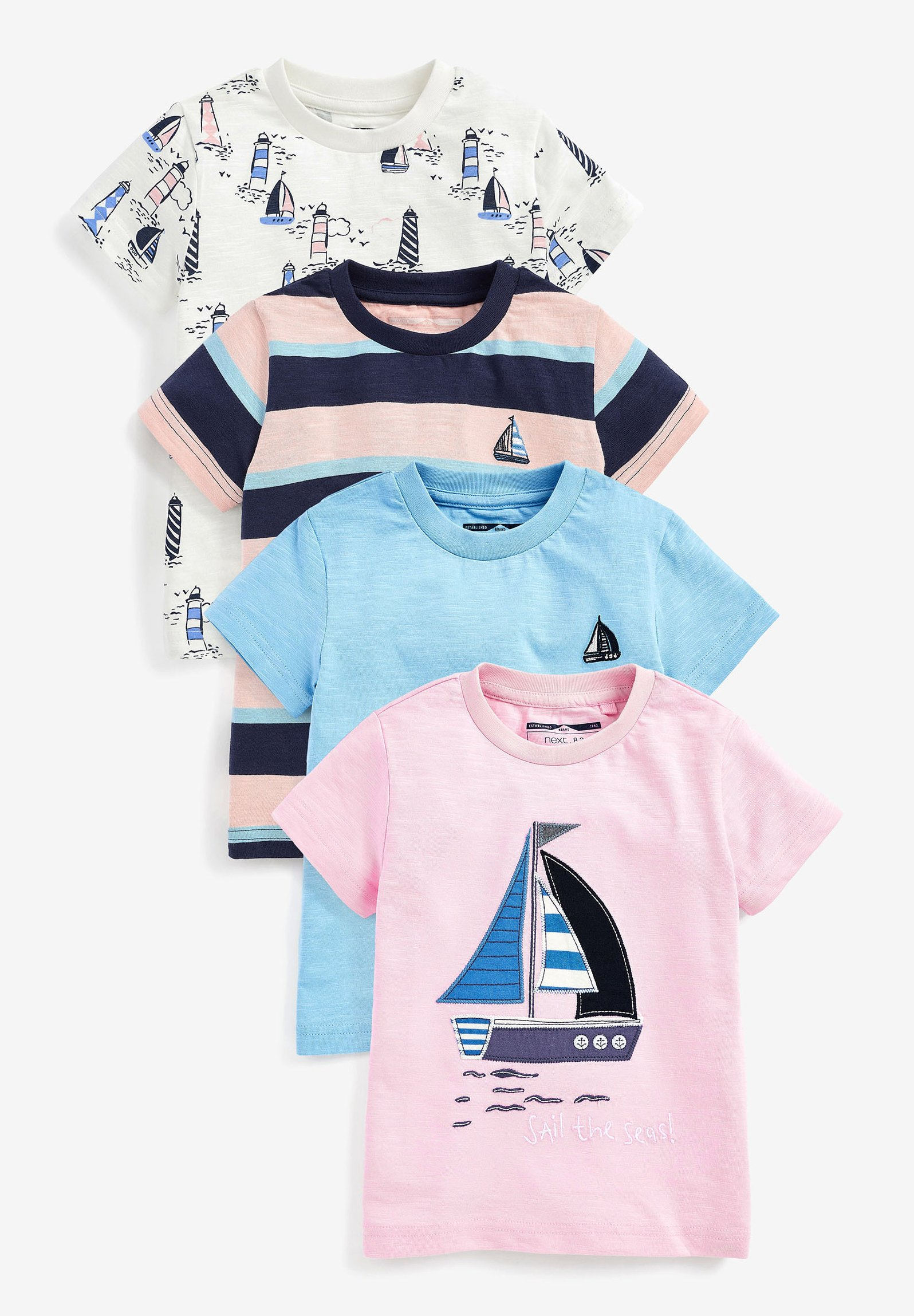 Bambini 4 PACK - T-shirt con stampa