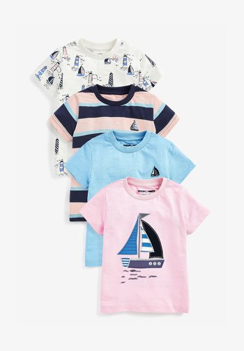 4 PACK - T-shirt con stampa - multi-coloured