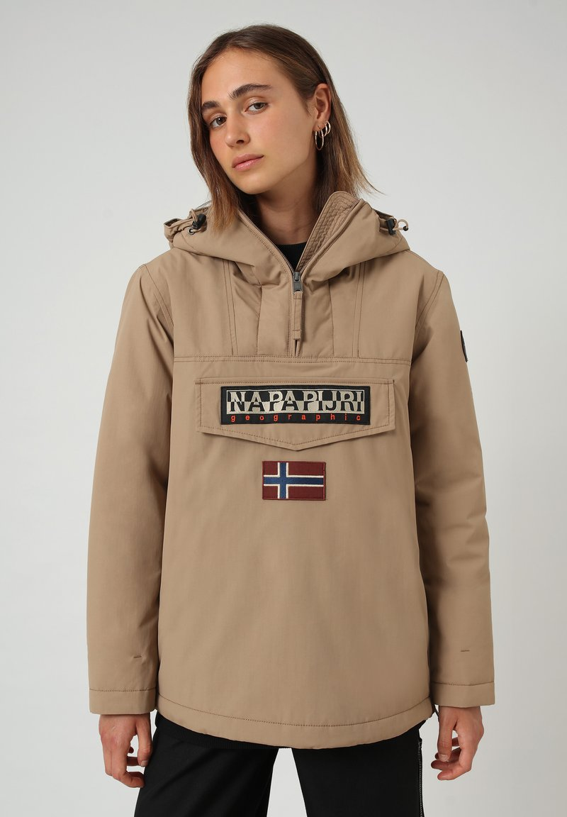 Napapijri - RAINFOREST WINTER - Übergangsjacke - beige portabel