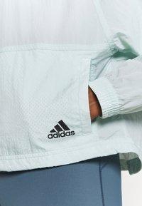 adidas Performance - JACKET - Training jacket - mint - 6