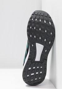 adidas Performance - DURAMO 9 - Neutrala löparskor - core black/active green/grey four - 4