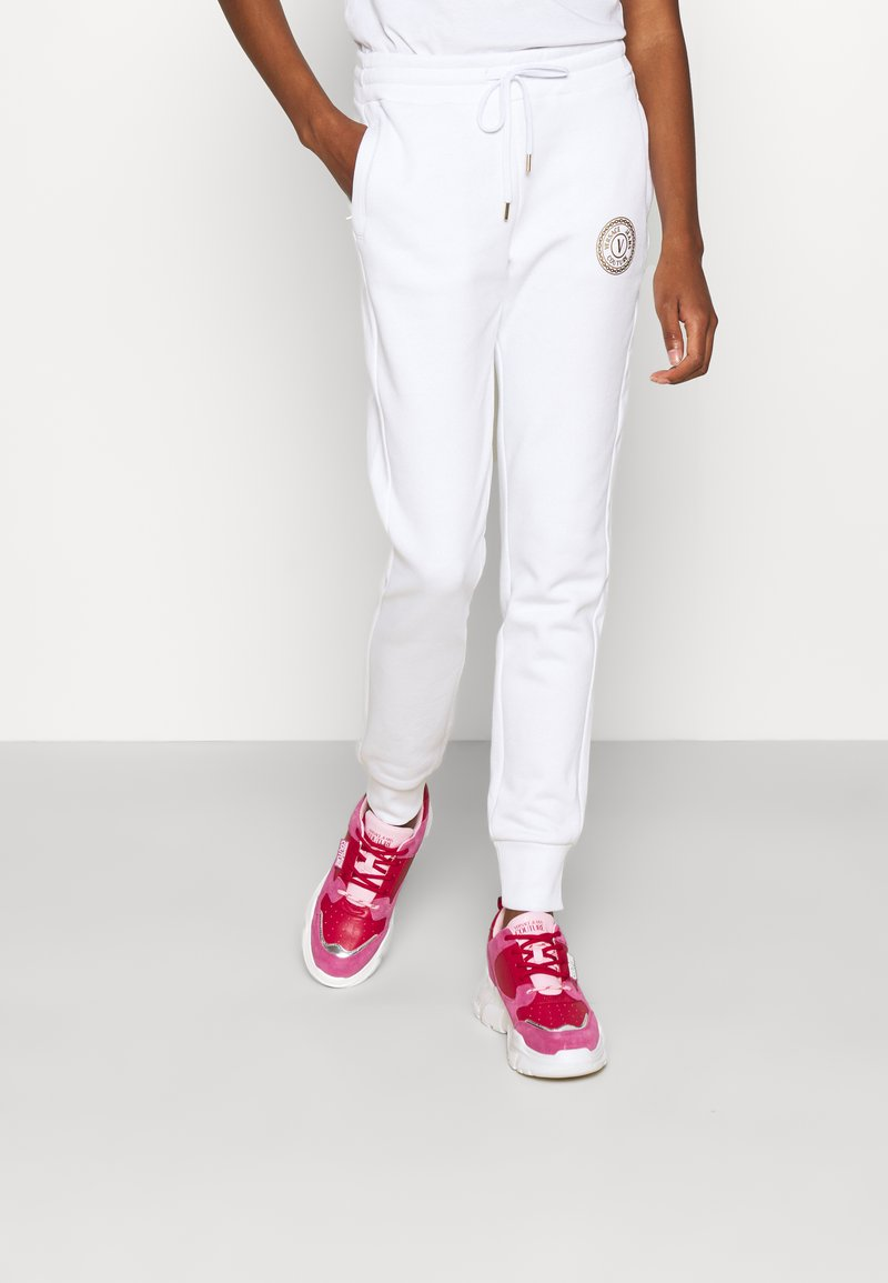 Versace Jeans Couture - PANTS - Tracksuit bottoms - white