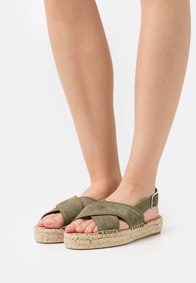 Zign - Platform sandals - khaki