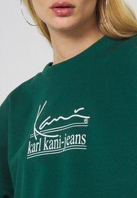Karl Kani - SIGNATURE CREW - Felpa - green - 5