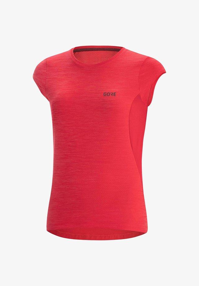 R3  - Print T-shirt - koralle
