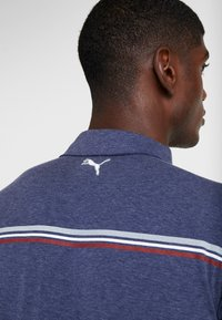 Puma Golf - LOOPING  - Sports shirt - peacoat heather - 5