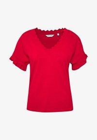 NAF NAF - CUTY - Camiseta básica - lipstick - 3