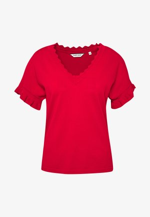 CUTY - T-Shirt basic - lipstick