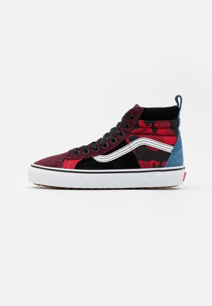 SK8 46 MTE DX UNISEX - Höga sneakers - multicolor/red