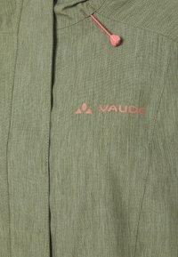 Vaude - ROSEMOOR - Hardshell jacket - fango - 4