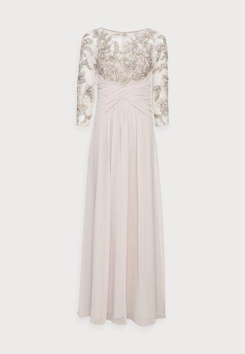 BEADED GOWN WITH SOFT SKIRT - Suknia balowa - marble