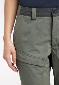 Haglöfs - Outdoor trousers - lite beluga/magnetite - 5