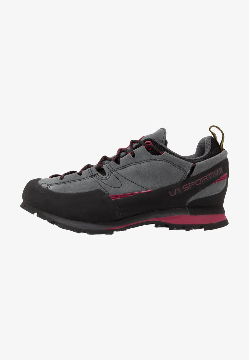 La Sportiva - BOULDER X WOMAN - Hiking shoes - carbon/beet
