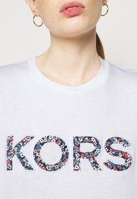 MICHAEL Michael Kors - LOGO - Print T-shirt - white - 5